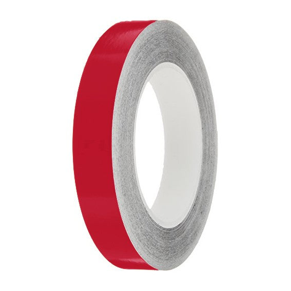 Cherry Gloss Colour Pin Stripe tapes, 50m roll, sticky self-adhesive, vinyl decal line tape
