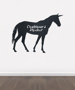 BB20 - Bespoke unicorn chalkboard sticker, beautiful blackboard vinyl cut sticker, self adhesive easy install