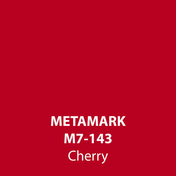 Cherry Gloss Vinyl M7-143, Metamark 7 Series, self-adhesive, sticky back polymeric sign making vinyl
