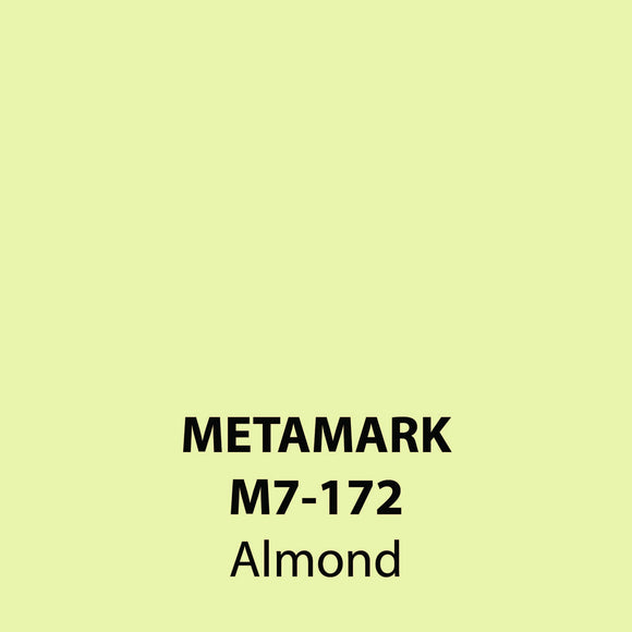 Almond Gloss Vinyl M7-172, Metamark 7 Series, self-adhesive, sticky back polymeric sign making vinyl