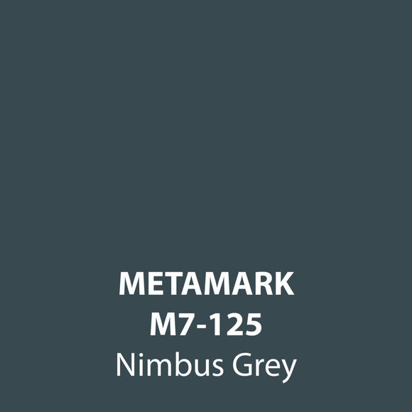 Nimbus Grey Gloss Vinyl M7-125, Metamark 7 Series, self-adhesive, sticky back polymeric sign making vinyl