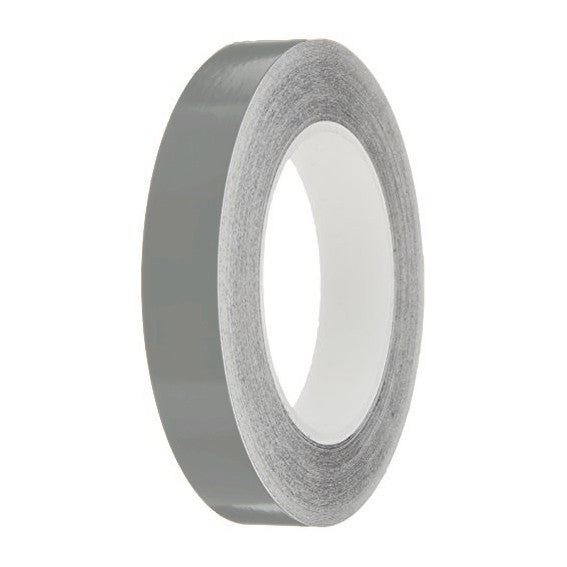 Light Grey Gloss Colour Pin Stripe tapes, 50m roll, sticky self-adhesive, vinyl decal line tape