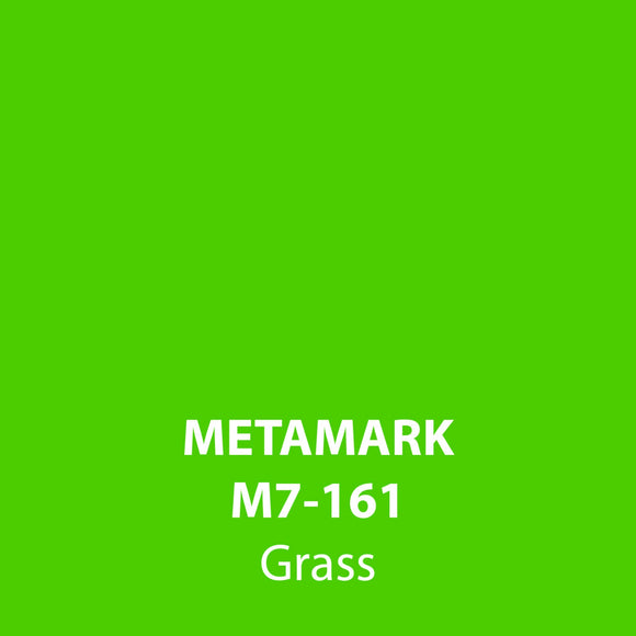 Grass Gloss Vinyl M7-161, Metamark 7 Series, self-adhesive, sticky back polymeric sign making vinyl