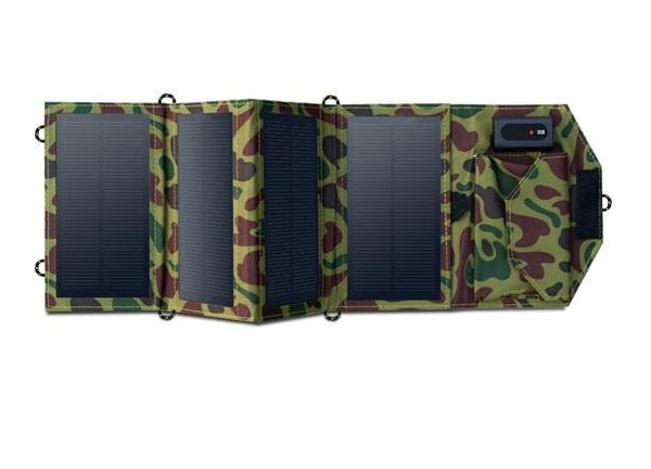 8W Portable Solar Charger - Foldable