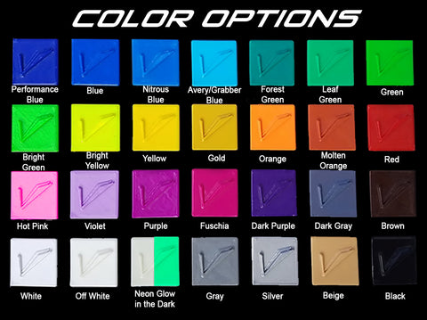 Color Options | Velossa Tech Design