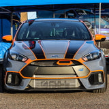 2016-2018 Ford Focus RS BIG MOUTH Ram Air Intake Snorkel | Velossa Tech Design
