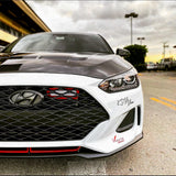 2019+ Hyundai Veloster R-Spec/Turbo Ram Air BIG MOUTH (w/flare) - Intake Snorkel
