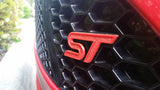 Ford-Focus-ST-Front-Emblem-Red