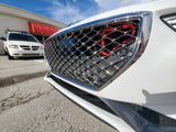 2019 Genesis G70 Ram Air BIG MOUTH (w/flare) - Intake Snorkel