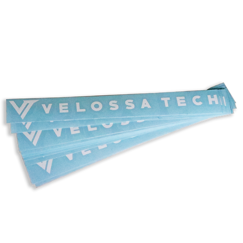 Velossa Tech Decal - White | Velossa Tech Design