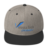 Velossa Tech Design Snapback Hat