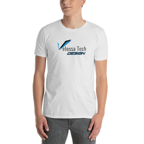 Velossa Tech Design Short-Sleeve Logo T-Shirt