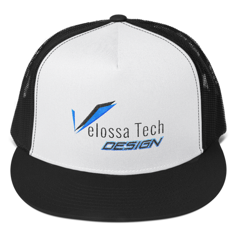 Velossa Tech Design Trucker Hat