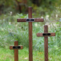 Temporary Wooden Memorial Markers
