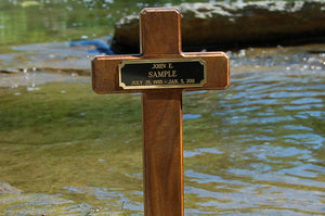 Wooden Temporary Cross