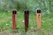 Load image into Gallery viewer, Hardwood Pet Memorial Markers