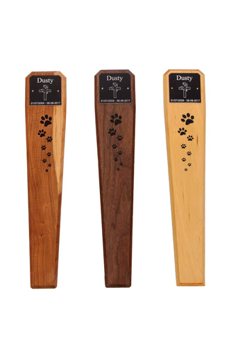Hardwood Pet Memorial Markers