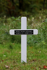 Plastic Roadside Memorial Marker