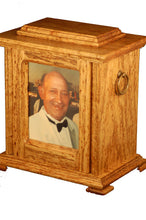 Load image into Gallery viewer, Hardwood Memorial Urns