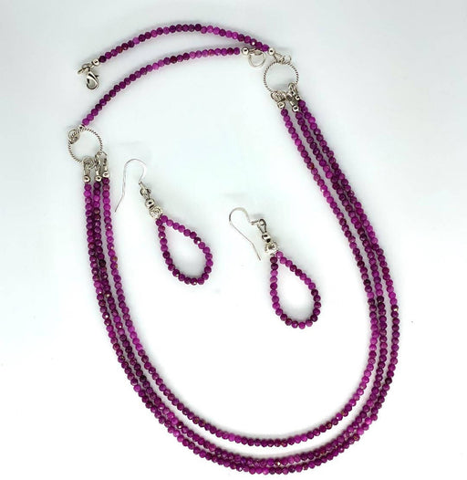Natural ruby necklace - Shop HamOnt