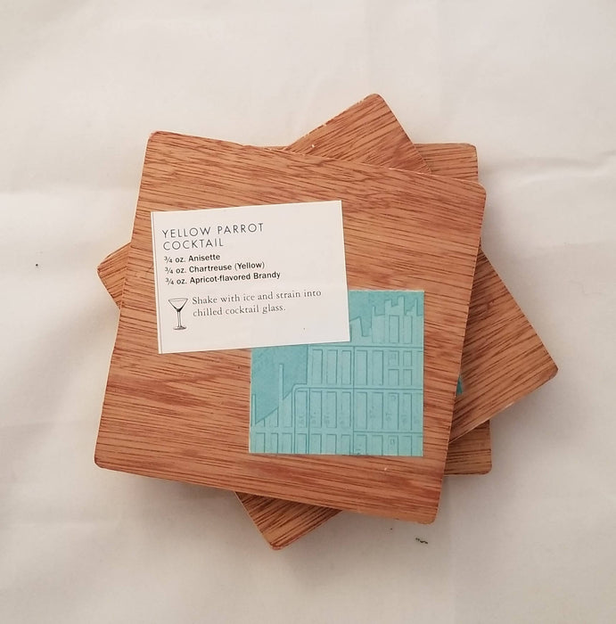 Collage Coasters - Cocktails - Shop HamOnt