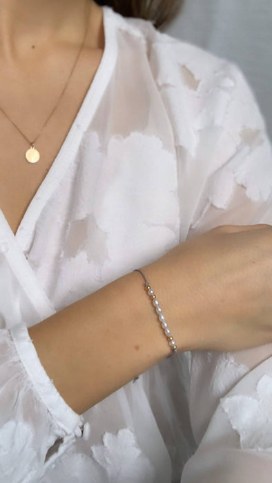 Thyme | Silk Bracelet - Bought It Local