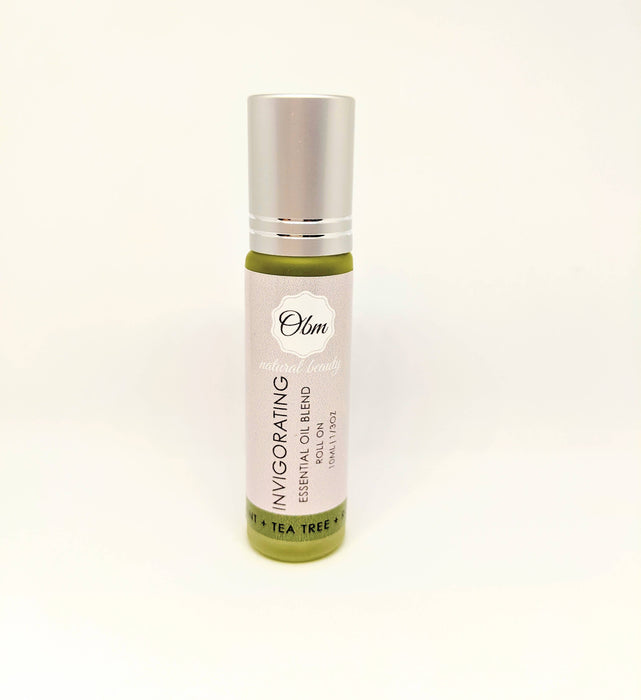 Invigorating Peppermint Essential Oil Roll On - Shop HamOnt