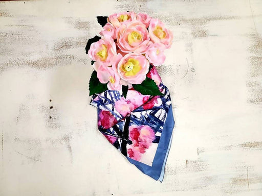 Spring in Paris Square Scarf - Shop HamOnt