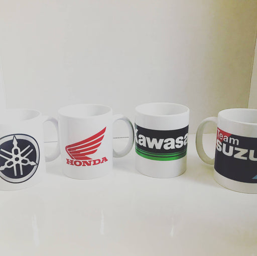 Motorcyle Brand Mugs - Bought It Local