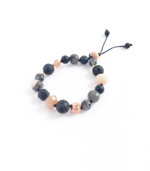 """Pleasantly Peach"" Diffuser Bracelet"