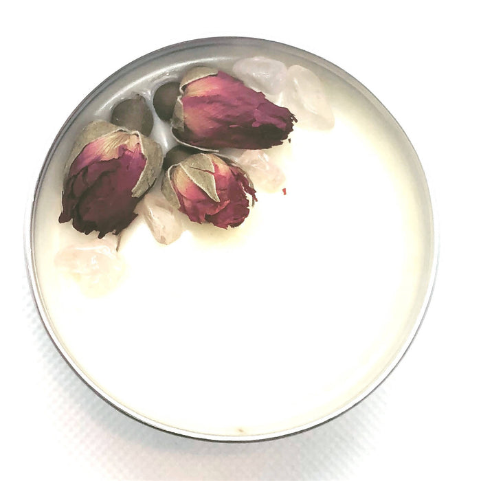 Rose Vanilla Bean Solid Perfume Salve - Shop HamOnt