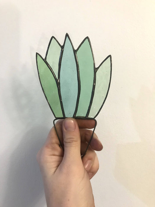 Stained Glass Aloe Plant - Bought It Local