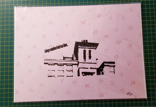 Screen Print - Vintage Architecture - Bought It Local