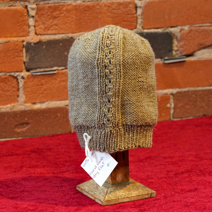 ellënoire Curly Safe Hats - Toasted Oat Long Toque