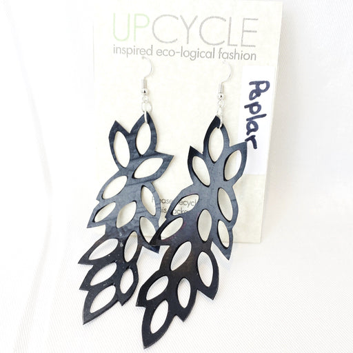 Poplar UPCYCLE Rubber Earrings - Shop HamOnt