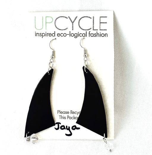 Jaya UPCYCLE Rubber Earrings - Shop HamOnt