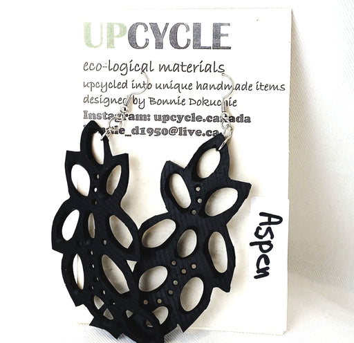 Aspen UPCYCLE Rubber Earrings - Shop HamOnt