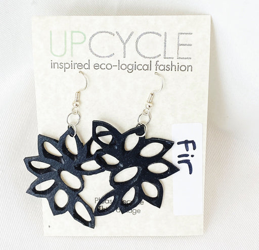 Fir UPCYCLE Rubber Earrings - Shop HamOnt