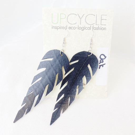 Oak UPCYCLE Rubber Earrings - Shop HamOnt