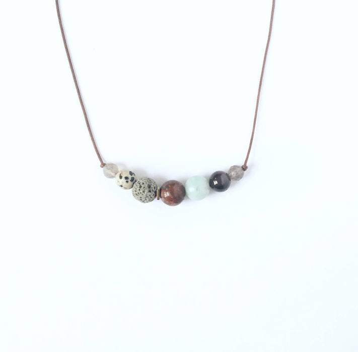 """Harvest"" Diffuser Necklace - Shop HamOnt"