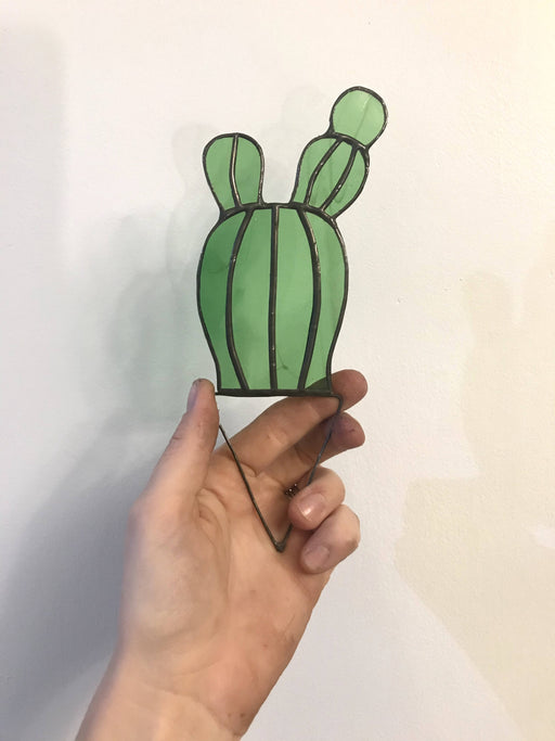 Stained Glass Bunny Cactus - Bought It Local
