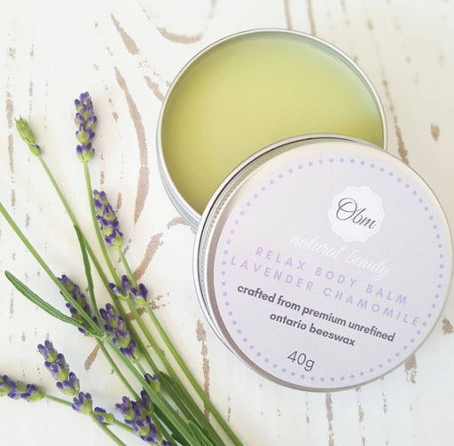 Relax Body Balm Lavender Chamomile - Shop HamOnt