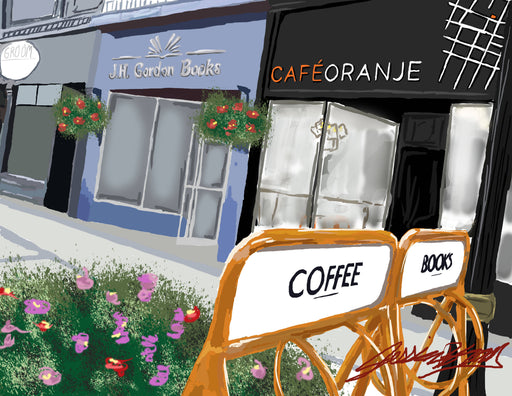 Cafe Oranje Print - Shop HamOnt