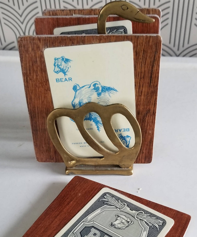 Collage Coasters - Vintage Card