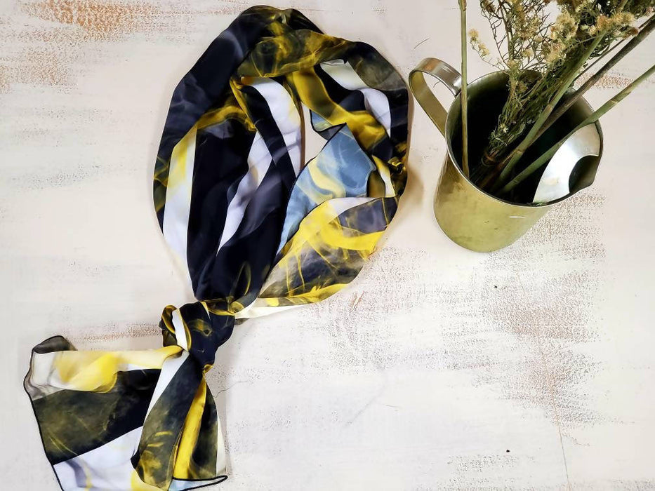 Artist Abstract Scarf - Shop HamOnt
