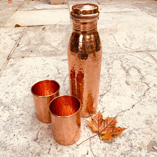 Pure Copper Water Bottle - Shop HamOnt