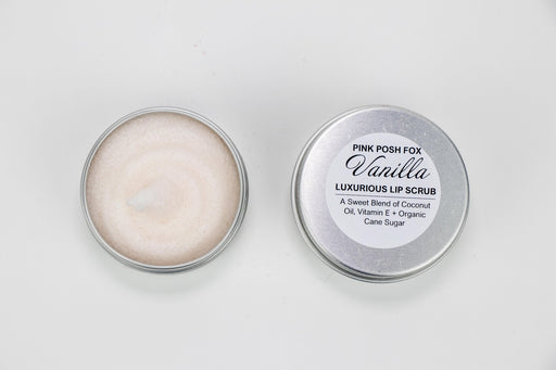 Vanilla Lip Scrub - Bought It Local