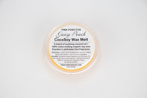 Juicy Peach CocoSoy Wax Melt - Shop HamOnt