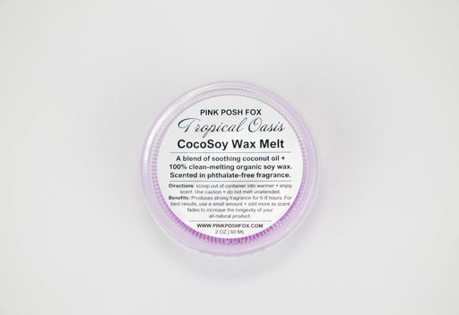 Tropical Oasis CocoSoy Wax Melt - Shop HamOnt