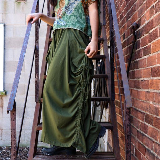 Olive Green Tashi Versatile Pants/Skirt - Shop HamOnt